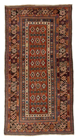 Chi-Chi rug woven by the Chechen tribes