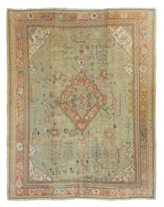 Decorative large Turkish rug