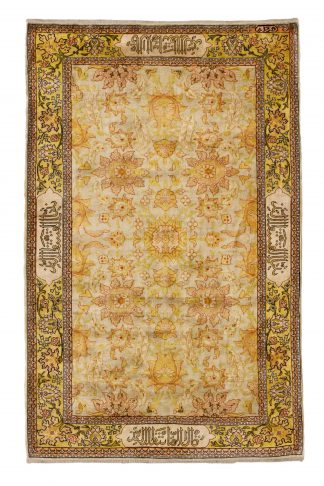 Hereke Saffron carpet