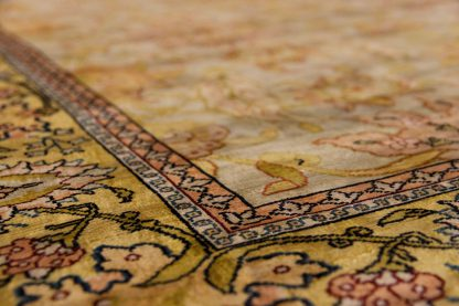 Hereke Saffron carpet