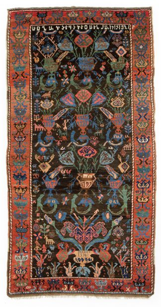 Qarabagh carpet dated 1921