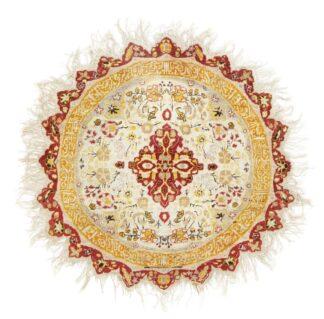 Round Kayseri silk