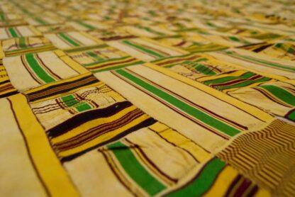 silk Kente cloth from Ghana