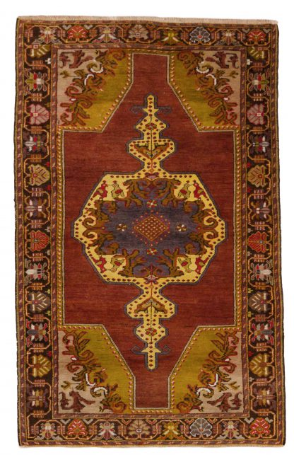 Medallion anatolian tribal rug