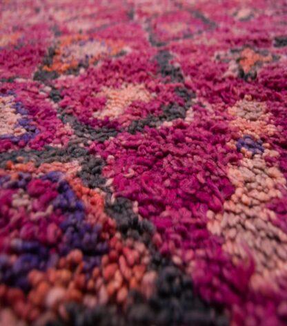 Purple Beni Ourain rug