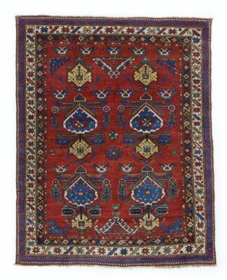 Red Shirvan carpet