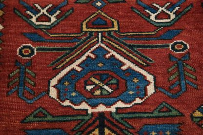 Red Shirvan carpet