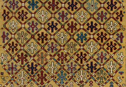 Saffron Shirvan carpet