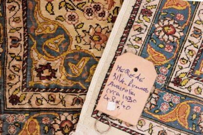 Small Hereke carpet