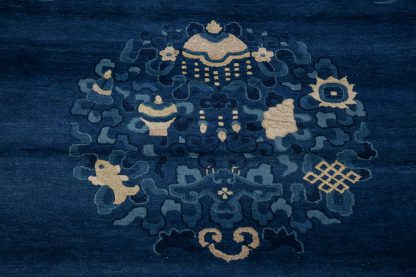 Dark blue Peking