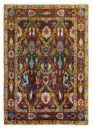 Dragon Tabriz carpet