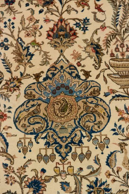 Elegant Kerman-Yazd silk