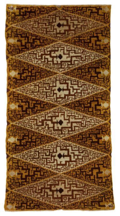 European art deco carpet
