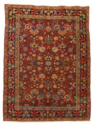 Fine Tabriz 'Shah Abbas' carpet