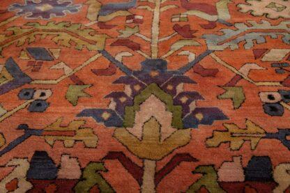 Heriz Design Hooked Rug