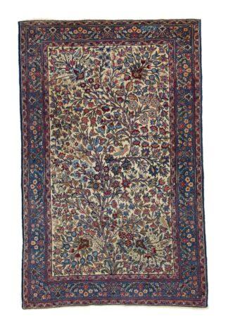 Kerman 'Castelli' carpet