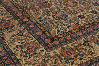 Kerman floral carpet