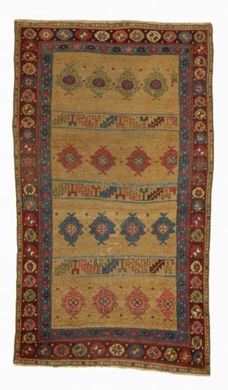 Kurdish yellow rug