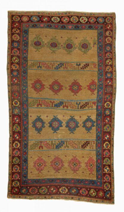 Kurdish yellow rug
