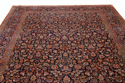 Large Kashan carpet