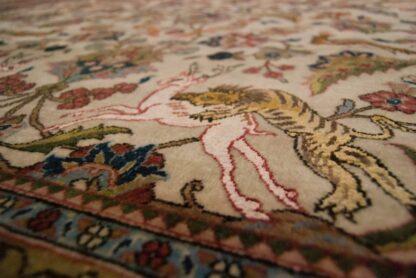 Qum silk carpet