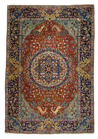 Rare and fine Tabriz
