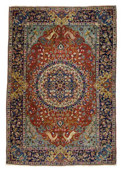 Rare and fine Tabriz