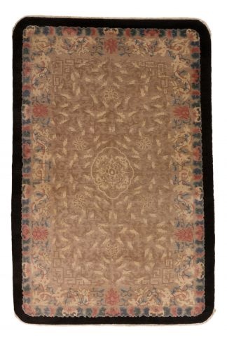 Rare art deco Chinese carpet
