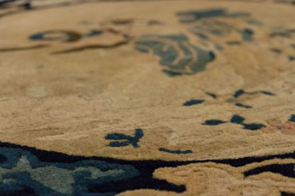 Round Chinese Peking Carpet 2