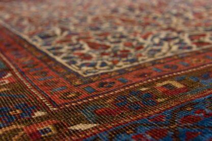 Square Afshar rug