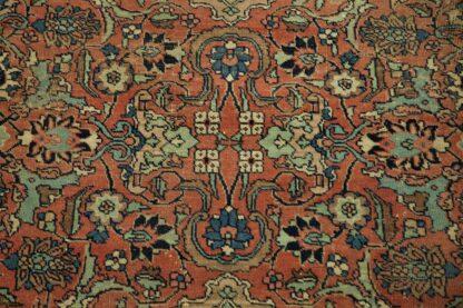 Square Tabriz carpet