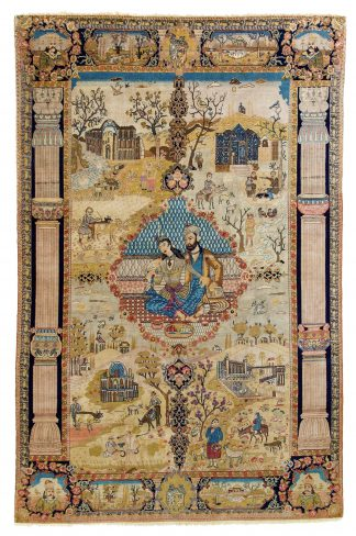 Tabriz 4 seasons carpet