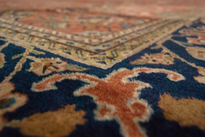 Tabriz Benlian orange carpet