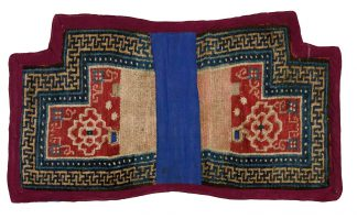Tibetan Saddle Cover