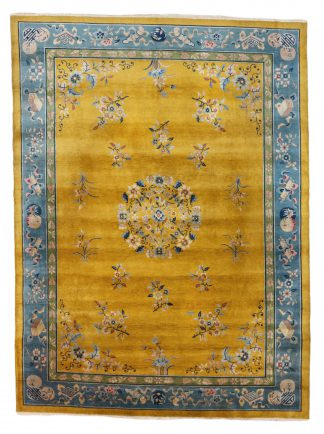 Yellow Peking rug