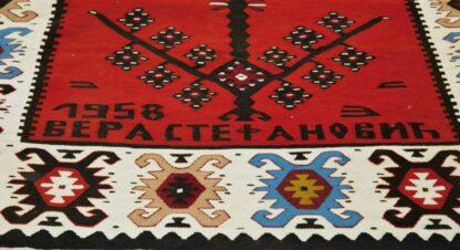 Balkan dated kilim
