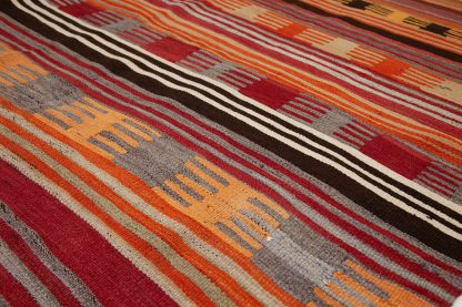 Colorful Anatolian kilim