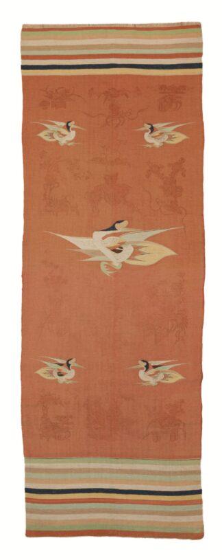 Mongolian Crane Kilim 2