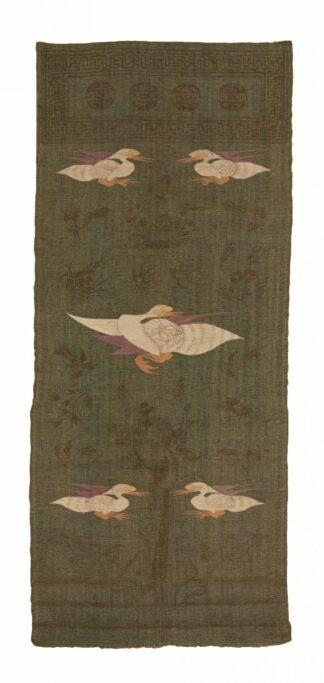 Mongolian Crane kilim