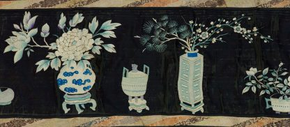 Chinese long textile