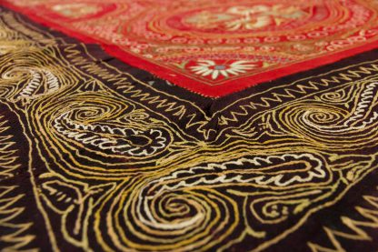 Indian wool embroidery