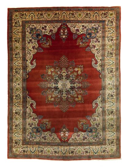 Decorative Red Tabriz