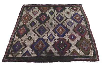 Anatolian kilim soumak jajim