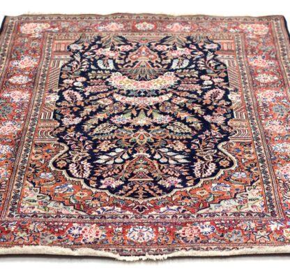 Kashan with silk