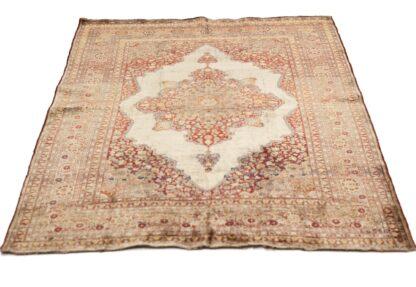 Tabriz Silk carpet Haj jalili