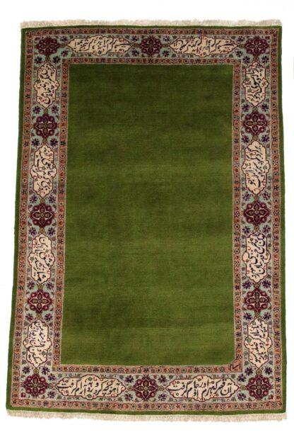 Tabriz verde carpet