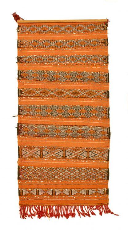 Berber orange kilim