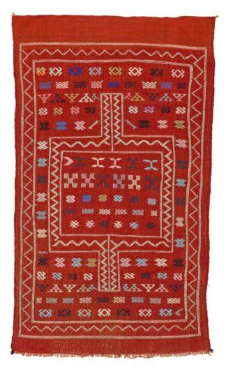 Berber red Kilim