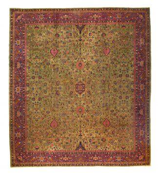 Indo-Tabriz carpet