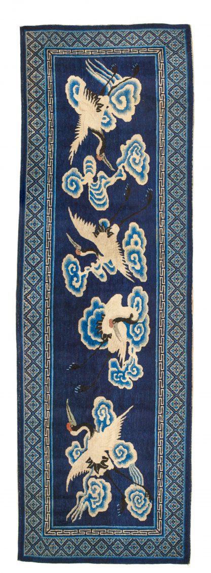 Peking blue runner